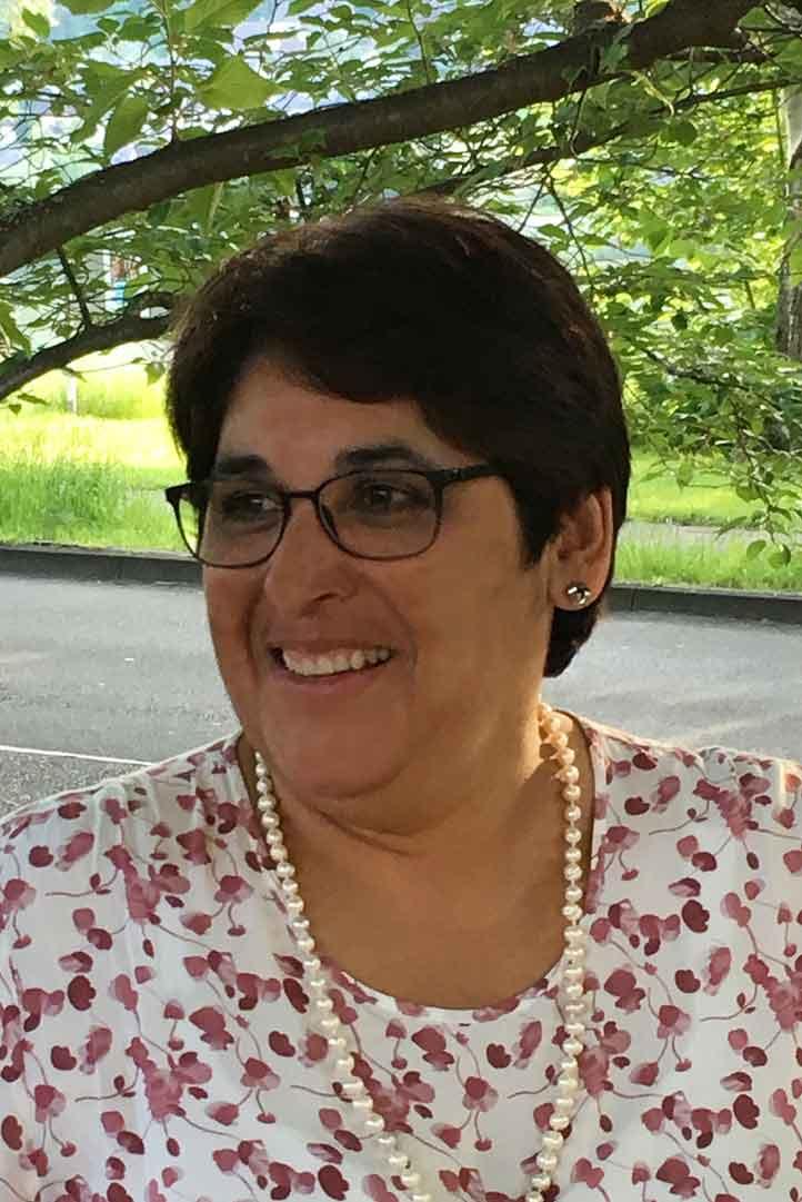 Sprecherin Cornelia Mark
